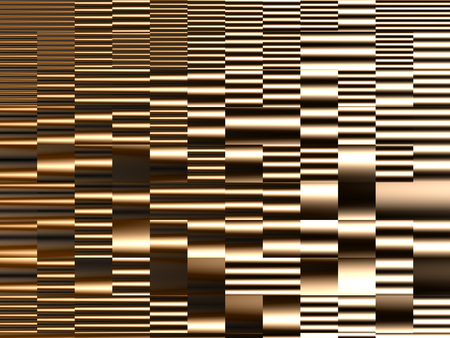 Abstract geometric construction horizontal dynamic lines background Stock Photo