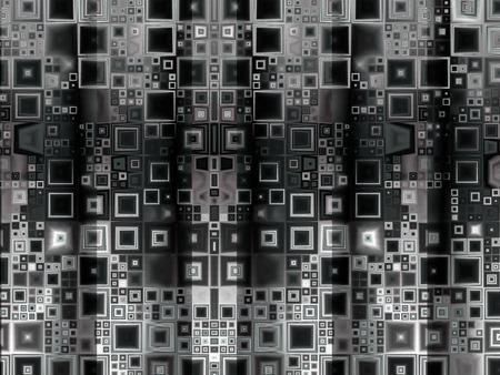 Abstract background geometric gradient dynamic black blocks Stok Fotoğraf