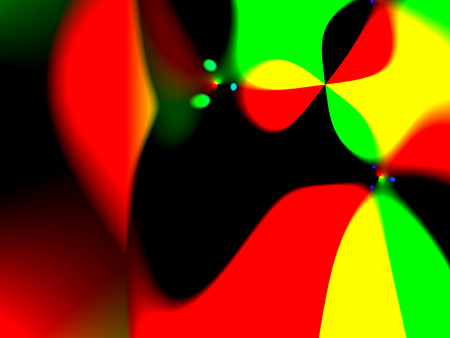 Abstract background red and black, yellow green, gradient pattern background  Imagens