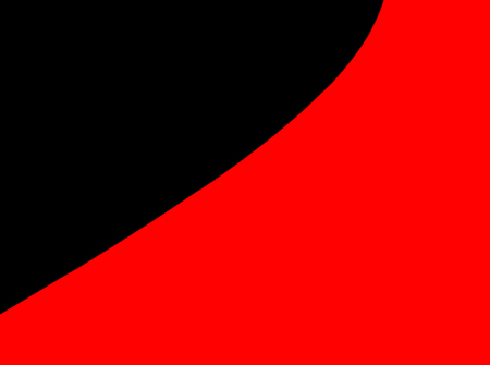 Abstract contemporary black and red, decorative design background presentation Imagens
