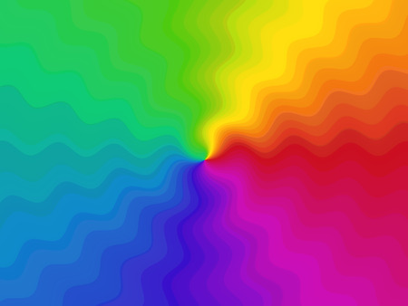 Abstract modern advertising, multicolored gradient decorative pattern motion