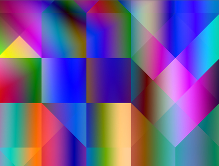 Abstract advertising dynamic background, fluorescent gradient multicolored modern pattern