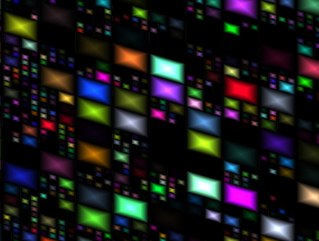 Abstract advertising, elegant motion multicolored lines, dynamic background Imagens