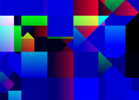 Abstract advertising, multicolored geometric contemporary, dynamic background Imagens