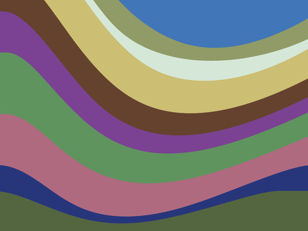 Abstract advertising, elegant multicolored lines, dynamic background
