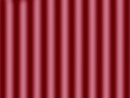 Abstract metallic cylinders pattern, gradient decorative red motion background