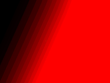 Abstract red, decorative geometric forms, modern gradient dynamic lines movement Imagens