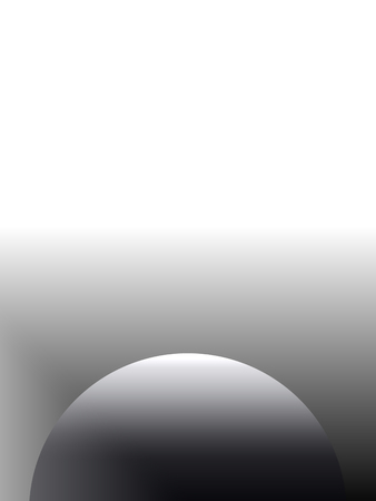 Abstract advertising gray background, gradient globe decorative monochrome pattern Imagens
