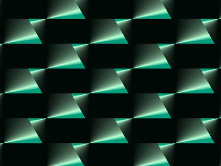 Abstract advertising  green geometric gradient background, elegant dynamic modern pattern