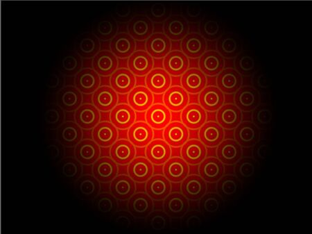 Abstract advertising, red gradient circle rays background, geometric modern dynamic pattern