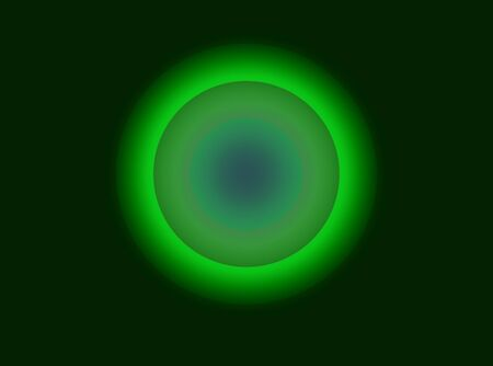 Abstract advertising black green, decorative fluorescent disc, geometric gradient  background