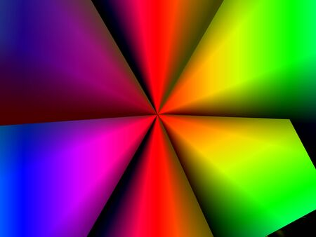 Abstract dynamic red green, blue yellow, pink purple, advertising modern background