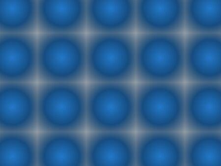 Abstract advertising background, blue balls, gradient modern dynamic fluorescent decor
