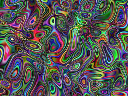 Abstract advertising multicolored gradient flowing background, dynamic curvature pattern