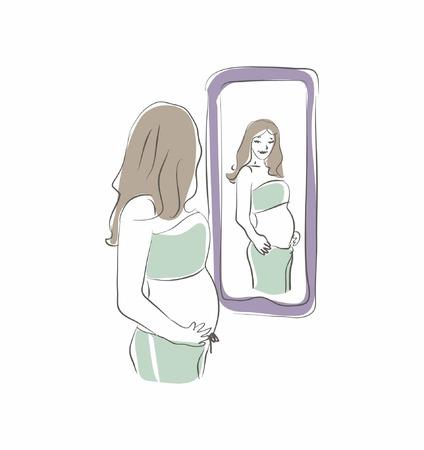 looking in mirror: Looking at Mirror