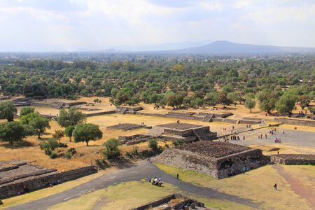 Ruin of Teotihuacan Mexico City