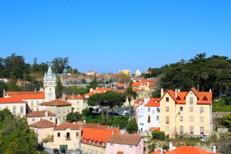 Historical Center of Sintra. Patrim & Atilde, the World Heritage UNESCO strips