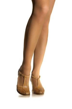 Woman legs photo