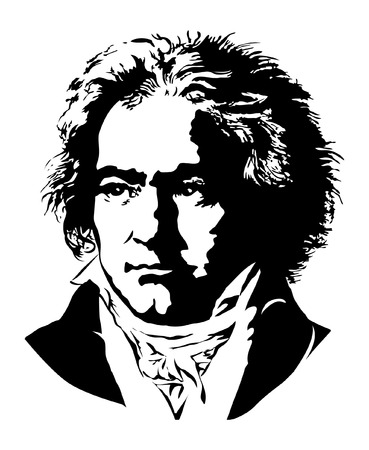 Ludwig van Beethoven Vector