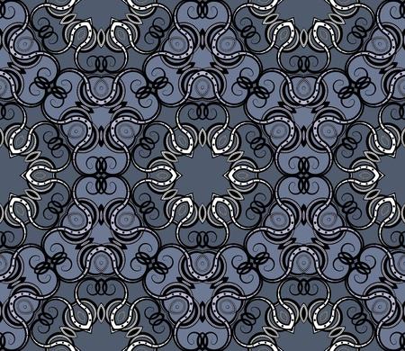 Seamless wallpaper Stock Vector - 9134890