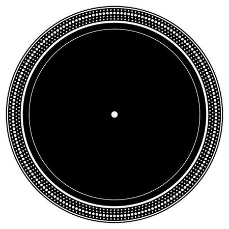 Plaque de platine DJ