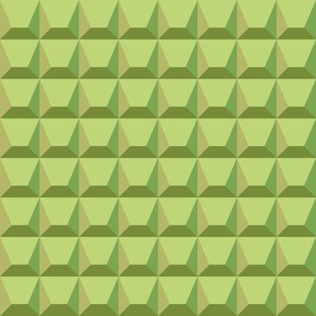 seamless geometrical pattern of green blocks Vector