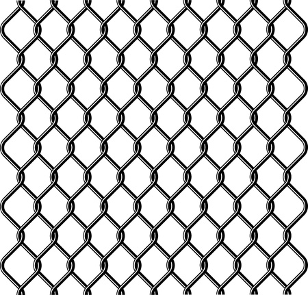 chain link fence texture Stock Vector - 9173108