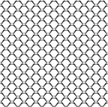 chain link fence texture Stock Vector - 9173180