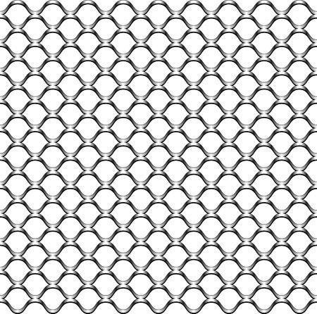 malla metalica: textura de valla de enlace de cadena