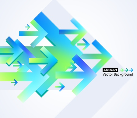 Abstract arrow vector background