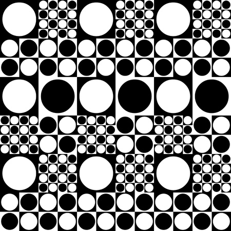 Seamless pattern of spots 70 photo