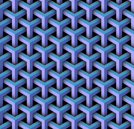 seamless pattern of blocks Stock Photo