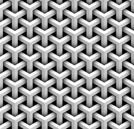 optical image: seamless pattern of gray blocks