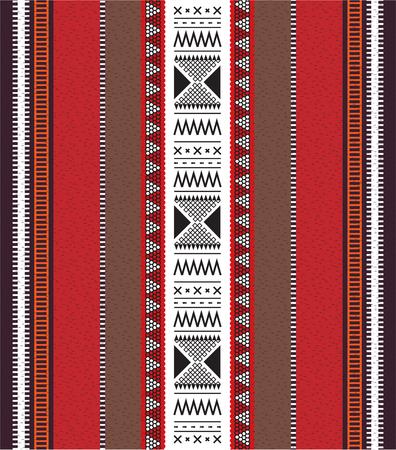 Modello tradizionale di tessitura a mano araba Sadu folk tradizionale