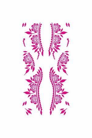 Henna Tattoo Illustration