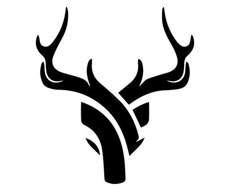 Abstract Deer  . Digital Drawing