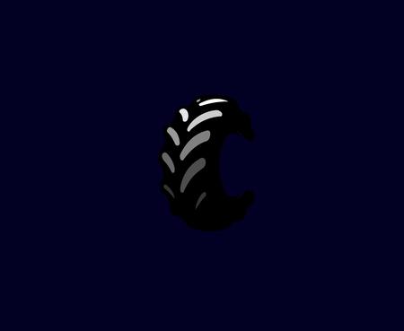 Tire illustration  イラスト・ベクター素材