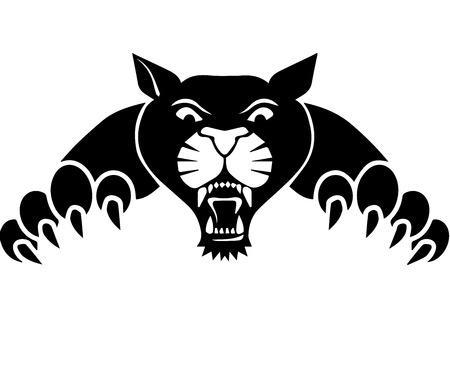 Wild tiger.  イラスト・ベクター素材