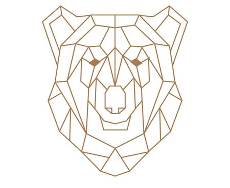 Polygonal bear.
