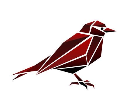 Abstract Polygonal Bird 写真素材 - 100230517