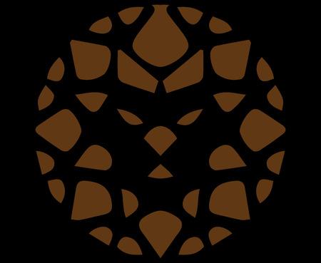 Abstract Lion Logo 写真素材 - 100223999