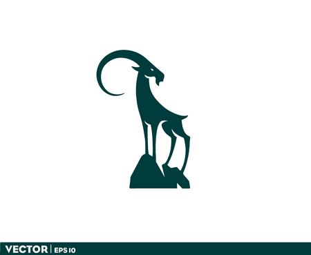 Big Horn Goat Logo 写真素材 - 100786167
