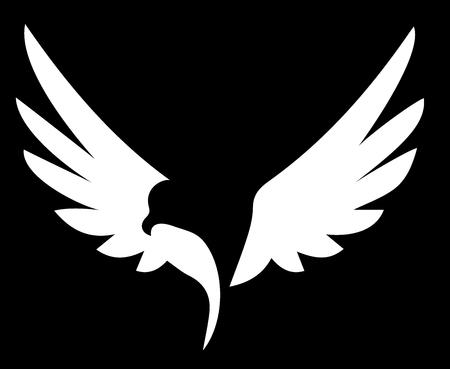 Bird Wings Logo  イラスト・ベクター素材
