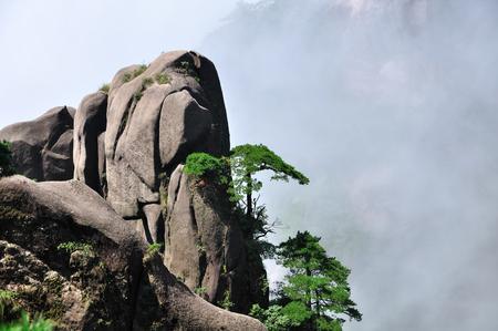 high sierra: Mount Sanqing