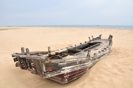 wrecked: The wrecked ship