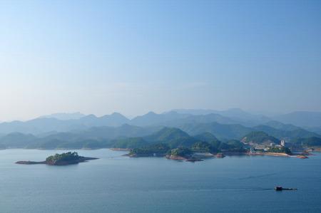 Hangzhou Qiandao Lake scenery 写真素材