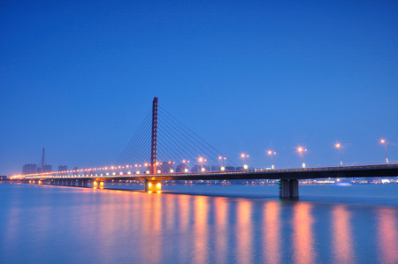 xing: West Bridge in Hangzhou Stock Photo