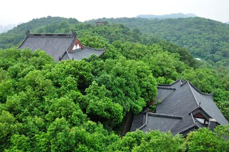 scenic spots: Overlooking the Hangzhou scenic spots