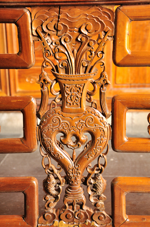 wood carving: Wood carving Stock Photo