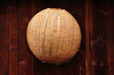 basket: Bamboo basket